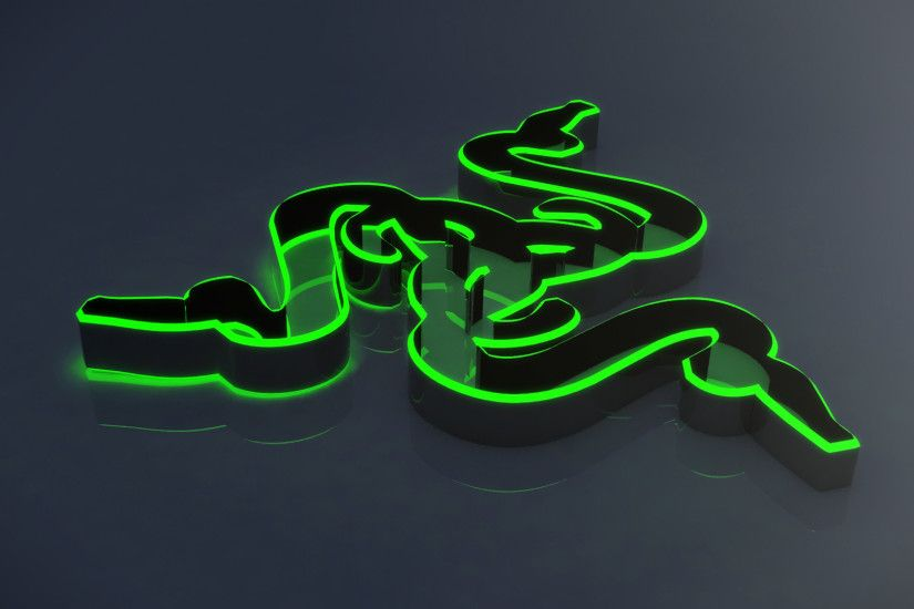 Razer Wallpaper 3d Blue