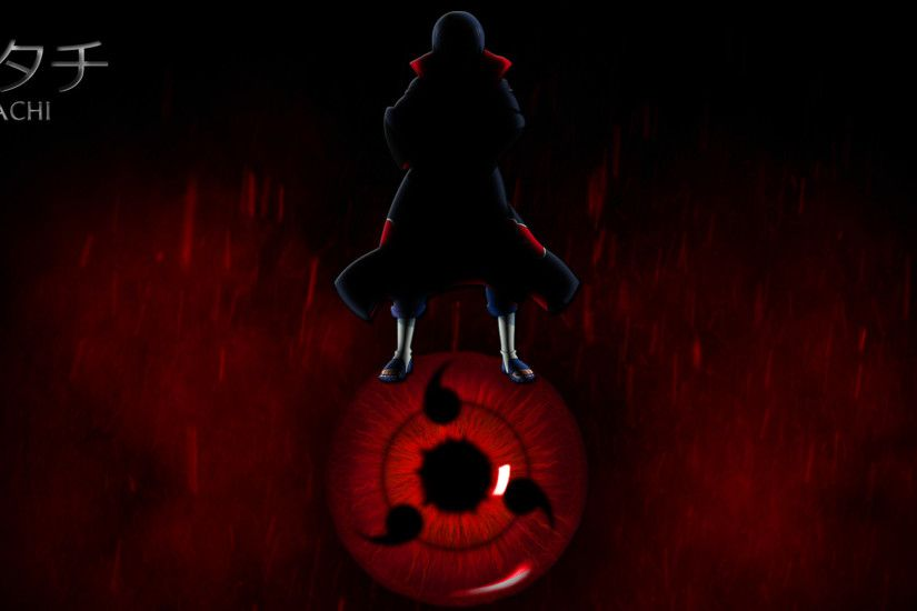 Sharingan Itachi Uchiha wallpaper