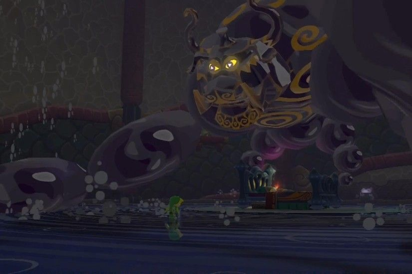 The Legend of Zelda: The Wind Waker HD - Puppet Ganon Boss Battle
