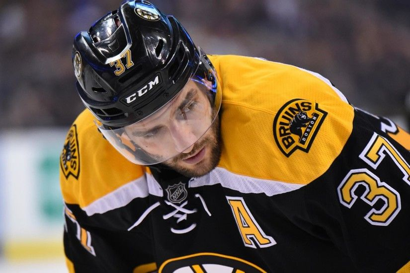 Boston Bruins: Patrice Bergeron Leads Whether He's The Captain Or Not |  Black N' Gold Hockey Blog