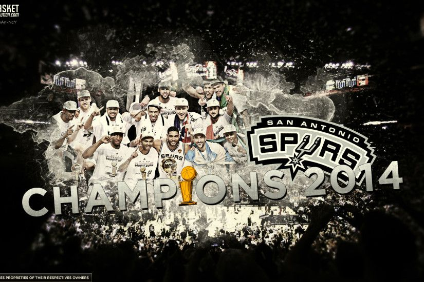 San Antonio Spurs 2014 Champions Wallpaper