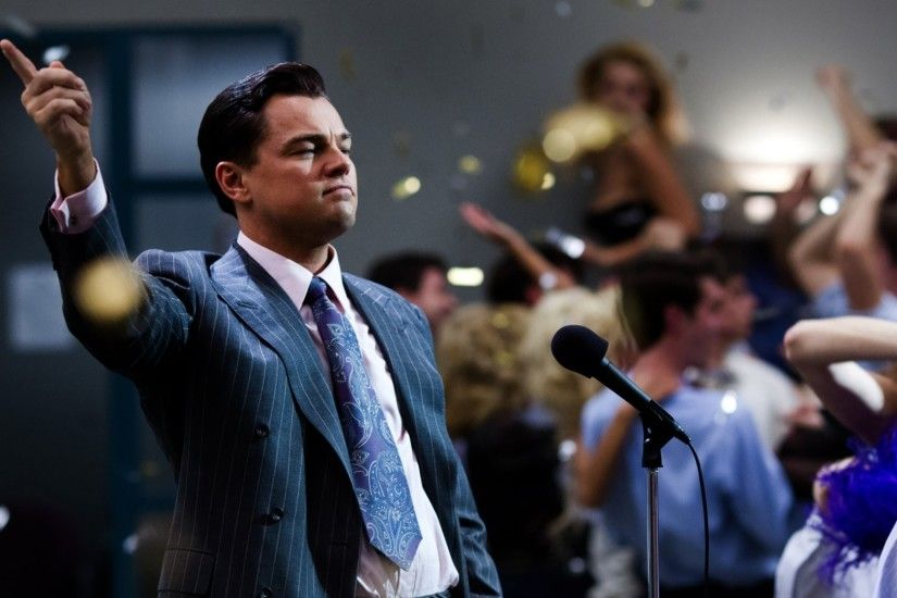 Preview wallpaper the wolf of wall street, leonardo dicaprio, jordan  belfort 1920x1080