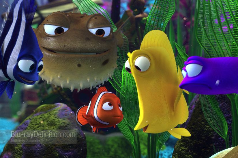 Finding Nemo Fish Tank Characters