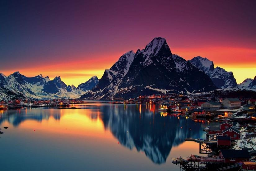 Norway Wallpaper 2560x1440 for Tablets.