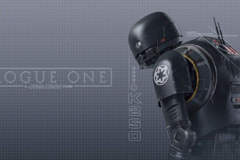 ... Rogue One Empire Magazine wallpaper 3 (K-2SO) by Spirit--Of