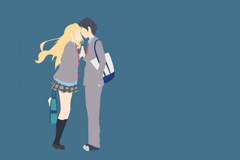your lie in april wallpaper 1920x1080 desktop