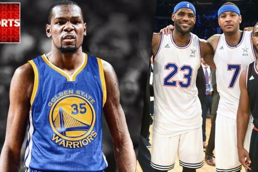 Warriors with KEVIN DURANT vs. LeBron James SUPER TEAM [NBA 2k What If] -  YouTube