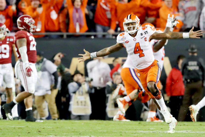 Clemson topples Alabama to win national championship on last-second  touchdown