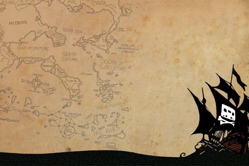 minimalistic, pirate ship, pirates :: Wallpapers