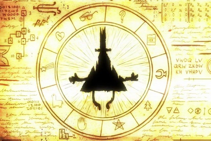 Wallpaper Gravity Falls, Bill Cipher, Gravity Falls, Bill Cipher .