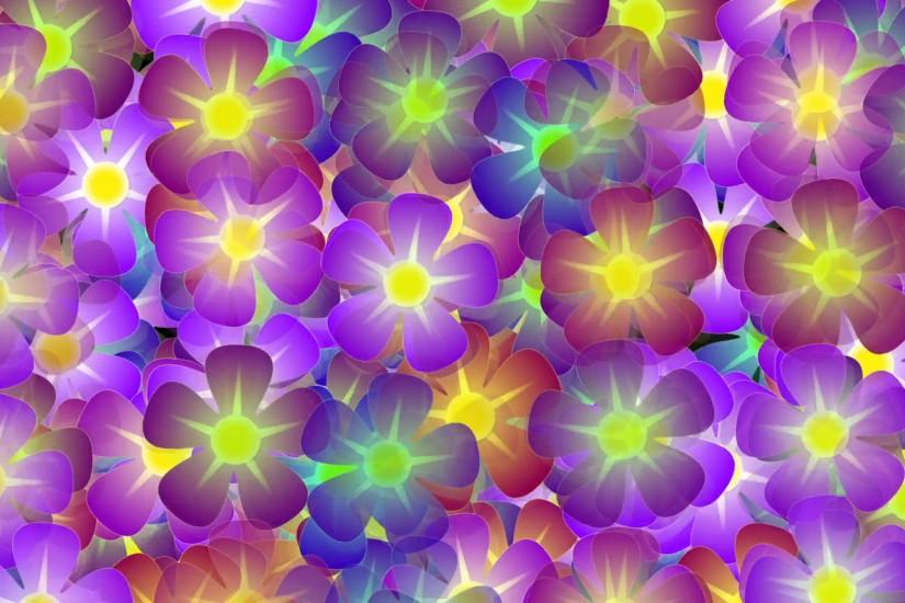 Hippie Flowers Shaking Background - 1080p Motion Background - VideoBlocks