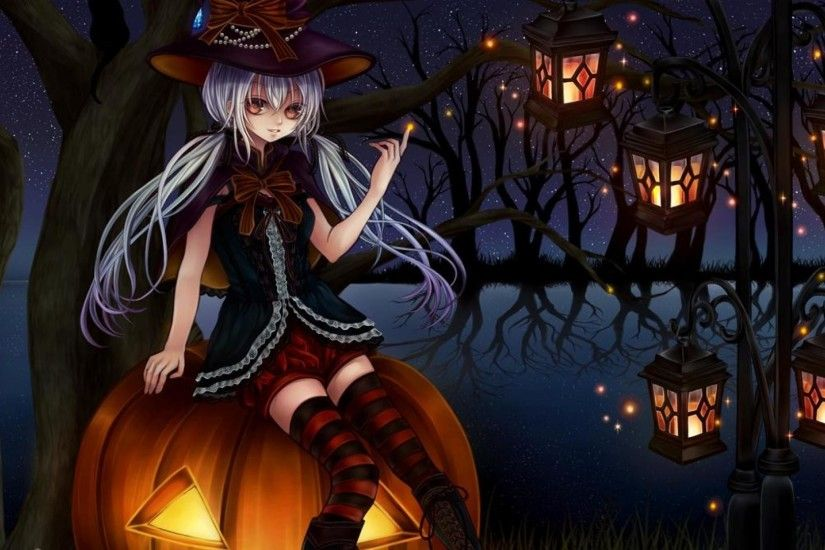 Anime Halloween Wallpaper 15 | Fastwallz.com