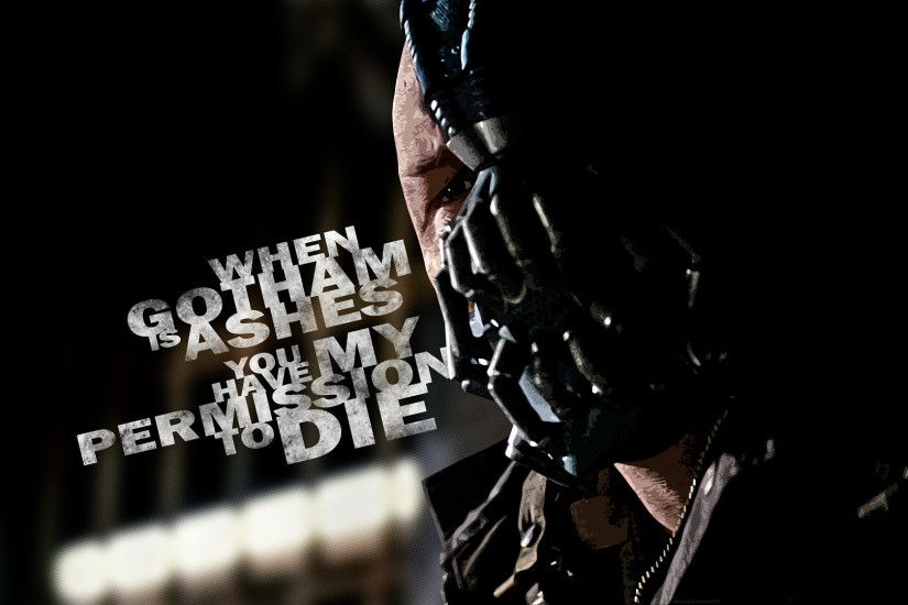 Bane Batman Dark Knight Rises wallpapers (13 Wallpapers)