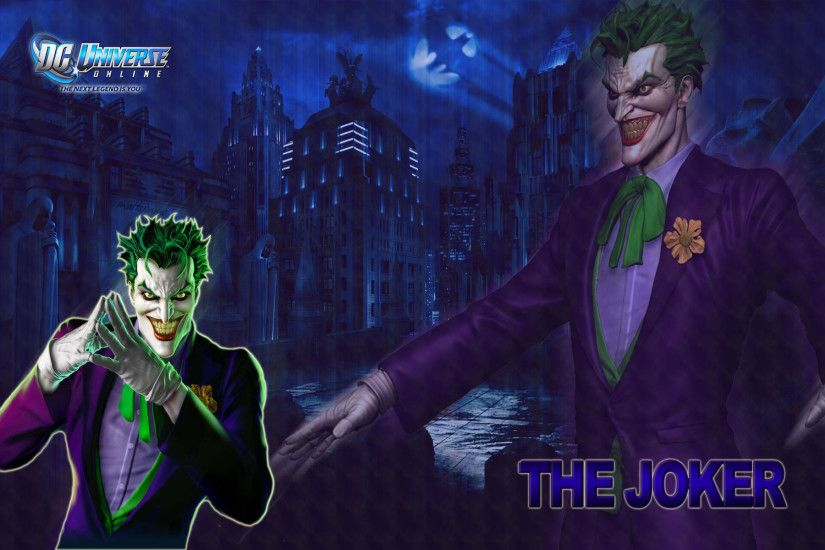 ... Games Wallpapers - Joker - DC Universe Online Wallpaper ...