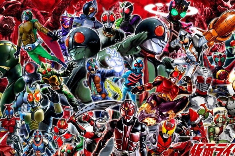 All Kamen Rider Wallpaper