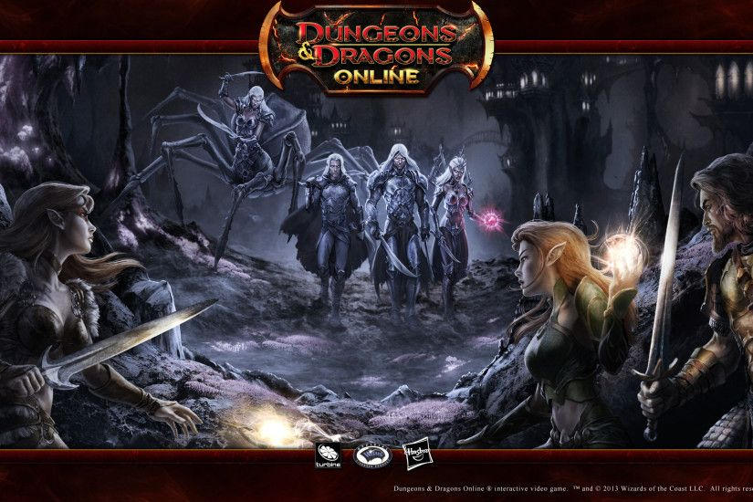 Dungeons & Dragons Online 16:10 Wallpaper - Drow Approach