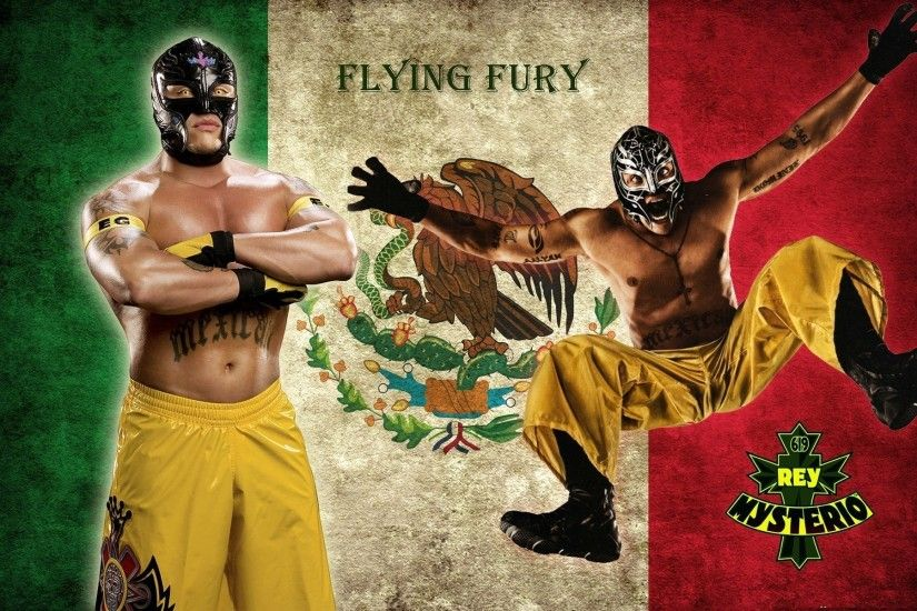 WWE Wallpapers. Previous Wallpaper · Rey Mysterio Flying