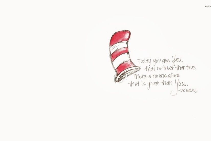 Dr. Seuss quote wallpaper - Quote wallpapers - #22741