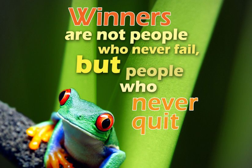 Winners Not People Who Never Fail - Tap to see more inspirational image  quotes & wallpapers!