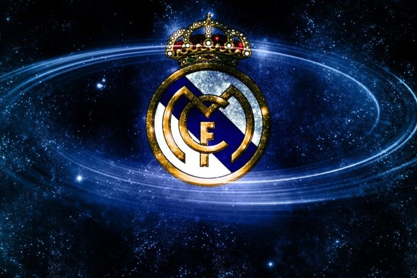 Download Fullsize Image · Real Madrid HD Logo Cool Soccer Wallpapers  1920x1080