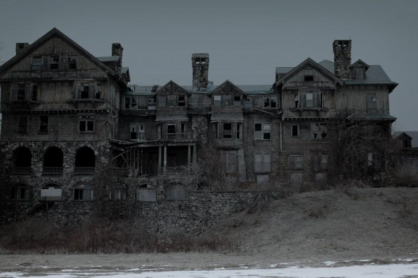 Spooky House Wallpaper 246455 ...