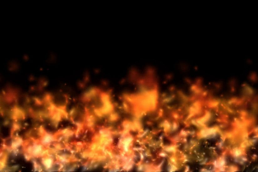 Seamless Looping Animation of Fire Flame on black background. HQ Video Clip  Motion Background - VideoBlocks