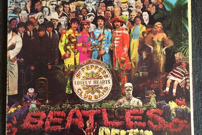 Beatles - Sgt. Peppers Lonely Hearts Club Band (Used LP)