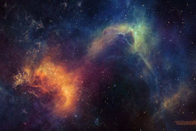 new space background hd 2560x1600 pc