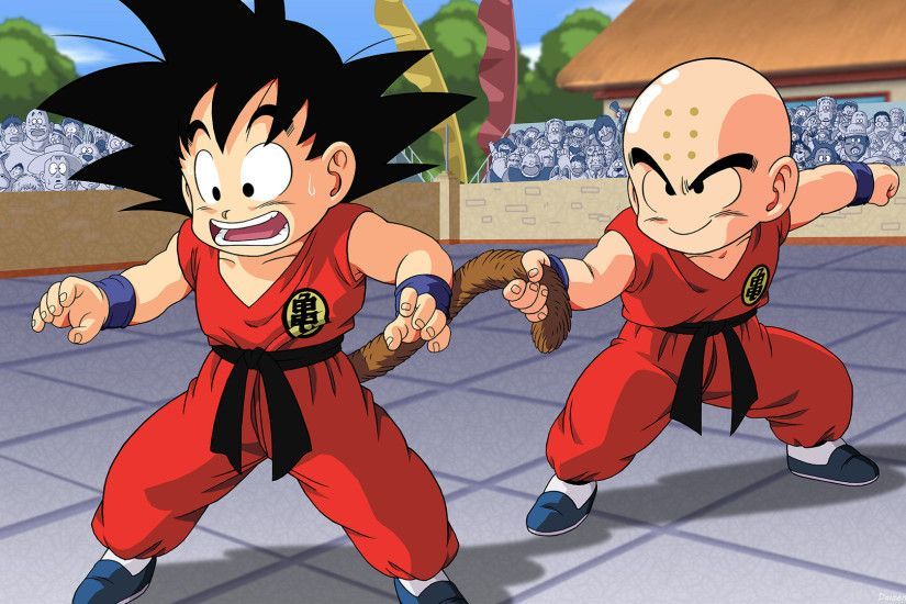 Anime - Dragon Ball Goku Krillin (Dragon Ball) Wallpaper