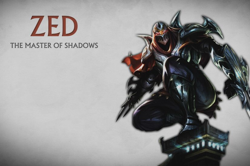 Zed and Shen Wallpaper by xsurfspyx Source · Zed Wallpaper 84 images