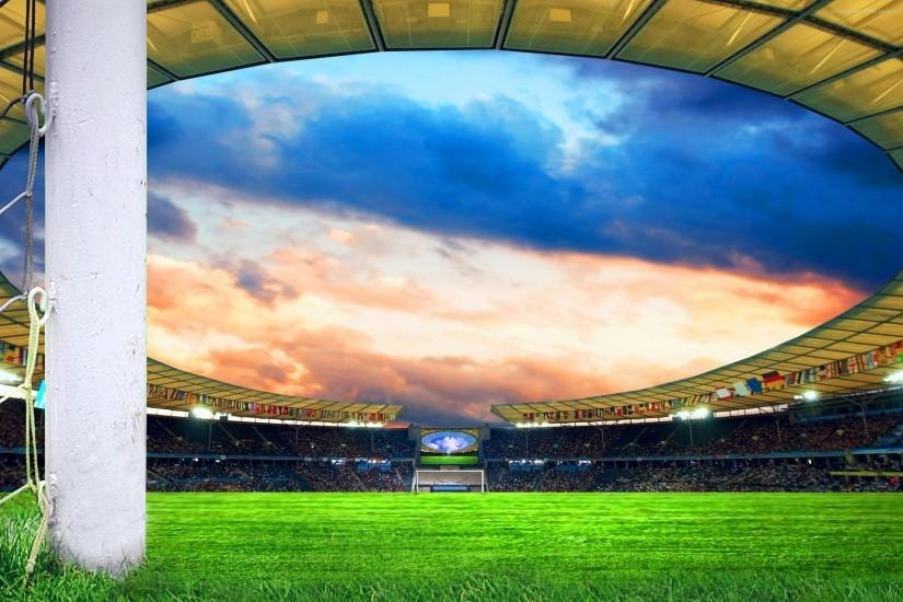 Football field wallpapers | Football field stock photos