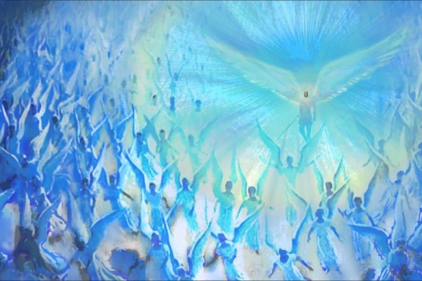 Archangel Michael and His Legions of Blue Flame Angels - Heart of Courage -  YouTube