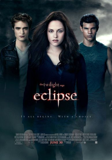 Twilight Saga Eclipse Movie Poster wallpaper - Click picture for high  resolution HD wallpaper