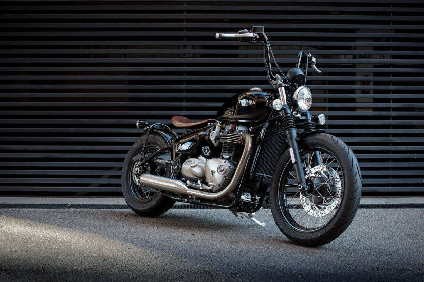 Download Wallpaper · bobberBonnevilleMotorcycletriumph