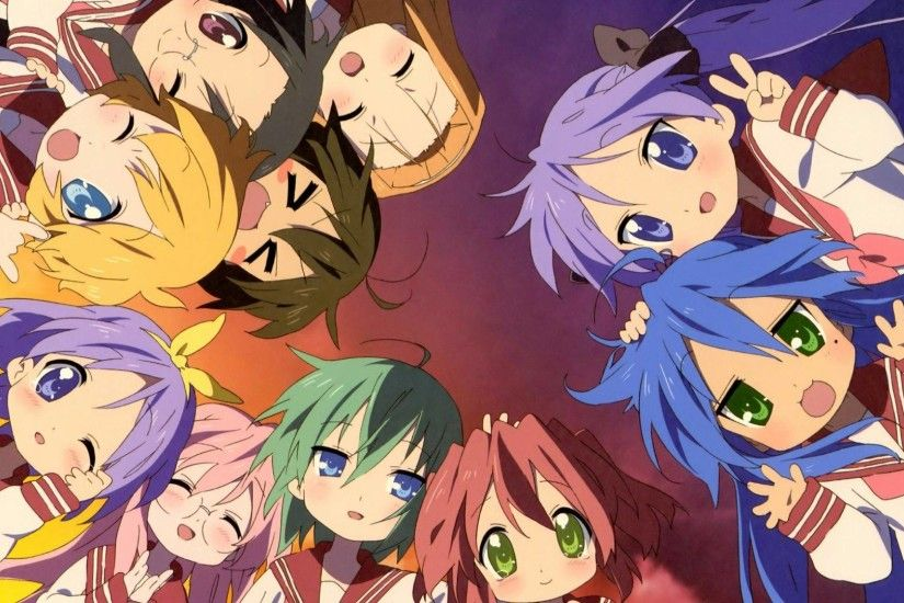 Beautiful anime artbook from Lucky Star uploaded by flareburst - A Circle  of Friends