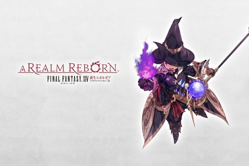 Final Fantasy Xiv A Realm Reborn Thaumaturge Wallpaper