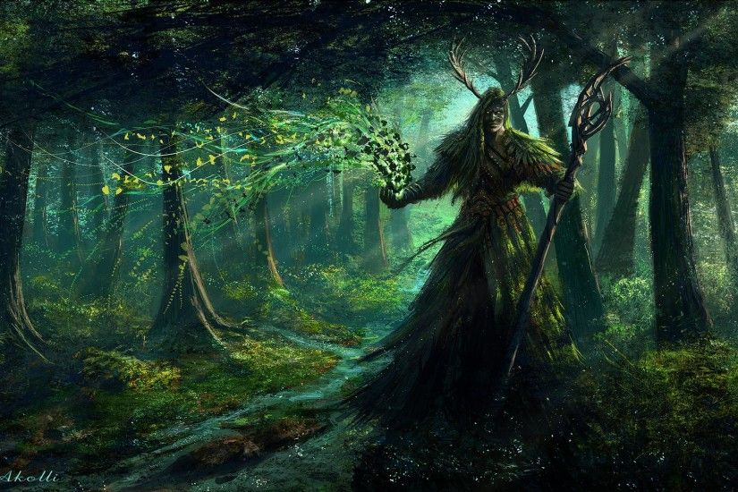 ... World Of Warcraft Wallpaper Druid (05) ...