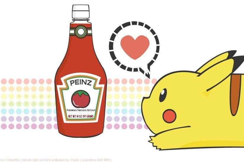 pikachu with ketchup wallpaper id: 73185 / Source. This pikachu with  ketchup wallpaper ...