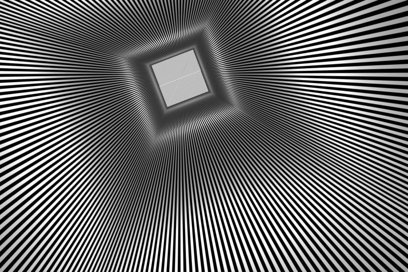 Square Rays optical Illusion teaser psychedelic 1920x1080.