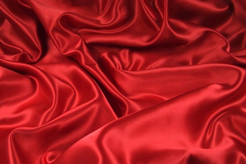 Preview wallpaper bends, fabric, folds, red 3840x2160