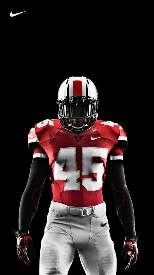 Ohio State Nike Pro Combat Football Uniform