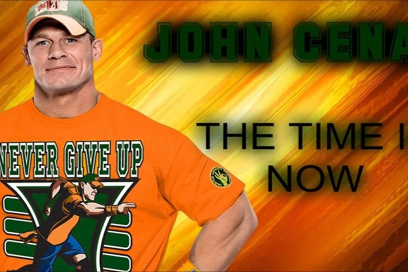 WWE: John Cena 6th Theme Song - {The Time Is Now} - 2016