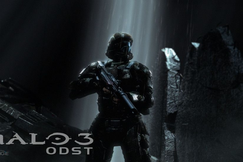 High Resolution Halo 3 Odst Wallpaper HD 4 Game Full Size .