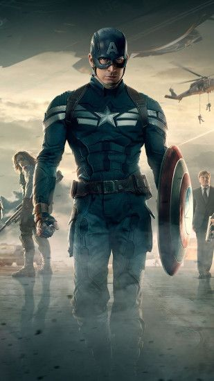 Captain America 2 The Winter Soldier Android Wallpaper ...