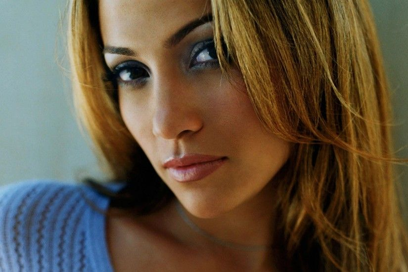 jennifer lopez face look hair eyes hd wallpaper