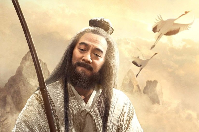 League of Gods 2016, Jet Li, Chinese movie wallpaper 1920x1080 Full HD