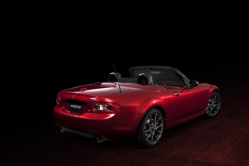 HD Wallpaper: Mazda MX-5 Miata 25th Anniversary Edition