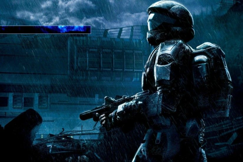 Halo 3: ODST custom background [OC] ...
