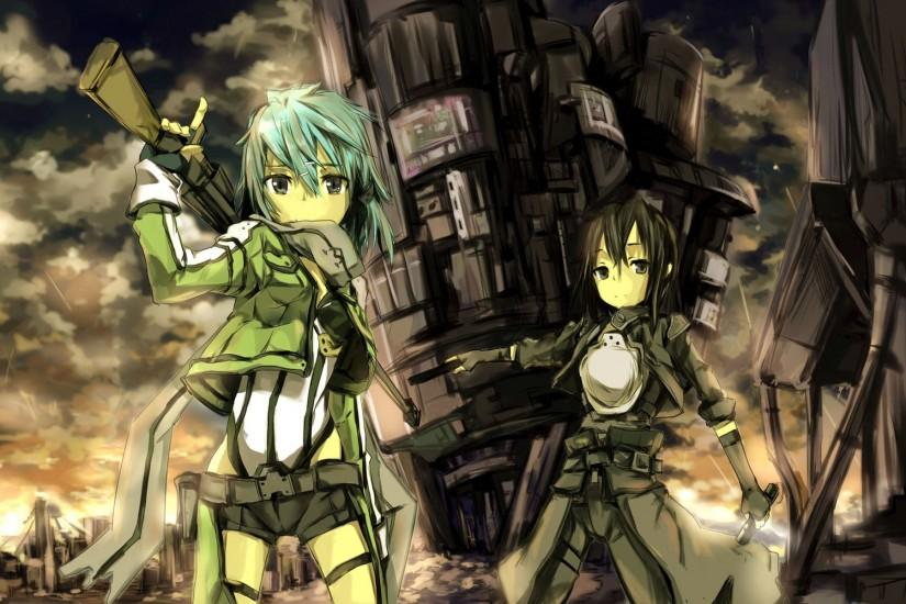 cool sinon wallpaper 1920x1200