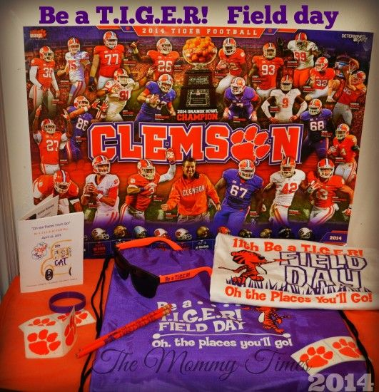 Clemson Spring Game and Be a TIGER Field Day Goodies